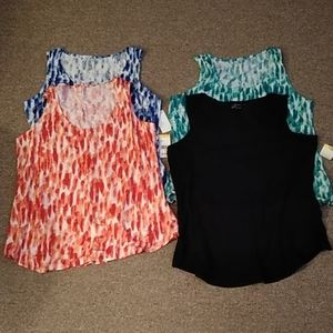 Lot of 4 tank tops